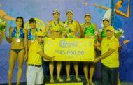 Duda/Ágatha conquista o título da etapa de Natal do Circuito Brasileiro Open de vôlei de Praia