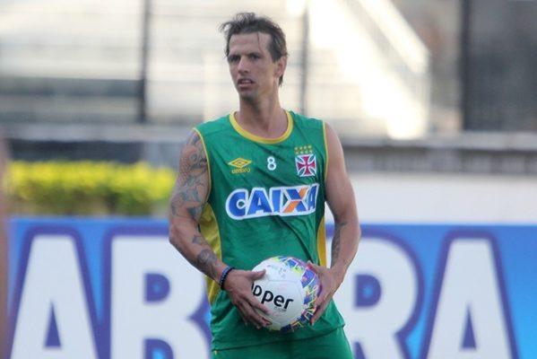 Último clube em que Diguinho jogou foi o Vasco da Gama (Foto: Paulo Fernandes / Vasco.com.br)