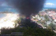 Incêndio atinge restaurantes e pousada em Morro de São Paulo; assista