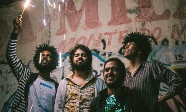 O show da psicodélica banda goiana acontece no Capitão Cook no dia 02 de novembro