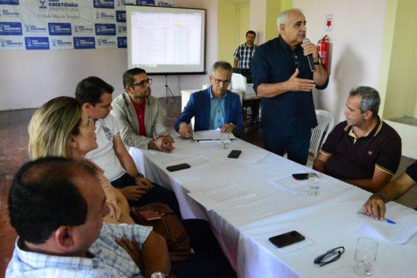 Em São Cristóvão, prefeitos se mobilizam por emendas impositivas