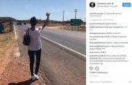 Ônibus da cantora Paula Fernandes quebra e cantora pede carona no Piauí