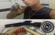 Polícia Civil prende traficante que ostentava armas e drogas nas redes sociais