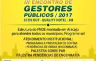 FNDE virá a Sergipe para 3º Encontro com Prefeitos