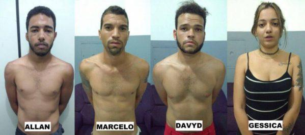 Segundo a polícia, os suspeitos atraiam as vitimas e diziam que iriam divulgar as fotos, já que havia fotos íntimas de casais.