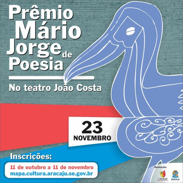 Funcaju lança 1º Prêmio Mário Jorge de Poesia