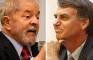 Ibope indica segundo turno entre Lula e Bolsonaro em 2018