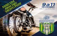 Moto Fest acontece de 9 a 11 de novembro na Orla de Atalaia