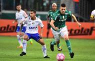 Palmeiras e Cruzeiro empatam na arena; líder do Brasileirão, Corinthians agradece