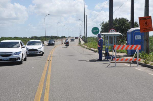 Trânsito volta ao normal na ponte que liga o Porto D'anta ao Marcos Freire, em Socorro