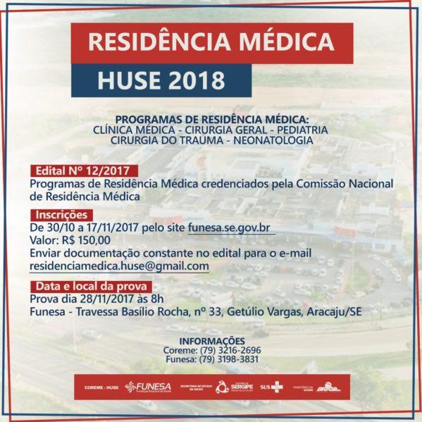 Secretaria de Estado da Saúde lança edital de processo seletivo para programas de Residência Médica