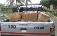 Mais de 500 tabletes de maconha são apreendidos durante fiscalização em Cristinápolis