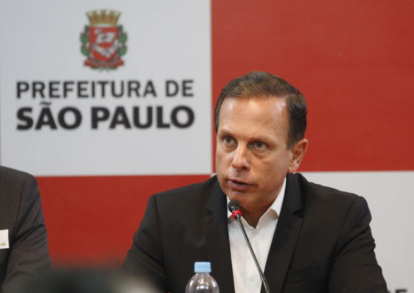 João Doria concede entrevista coletiva na manhã desta sexta-feira em Aracaju