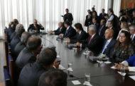 Governador participa de reunião com Temer e apela por recursos do Fundef