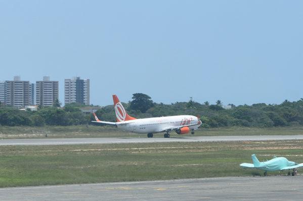 Neste sábado, 04 de novembro, o primeiro voo da linha Aracaju - Buenos Aires - Aracaju partirá do Aeroporto Santa Maria / Foto: Marcelle Cristinne/ASN