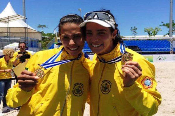 Sergipana e paranaense bateram Larissa e Patrícia na final