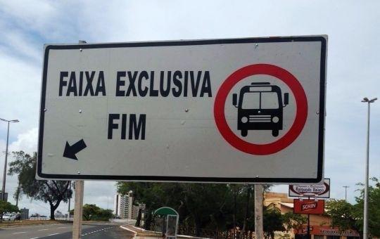 Justiça pede que SMTT retire as faixas exclusivas de Aracaju