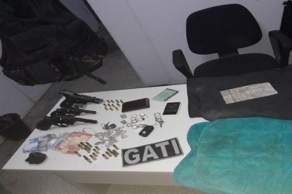 Operação do Gati prende suspeitos de tráfico de drogas, roubo e homicídio