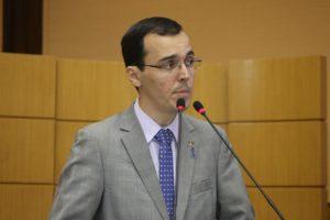 Deputado estadual Georgeo Passos (foto: César de Oliveira)