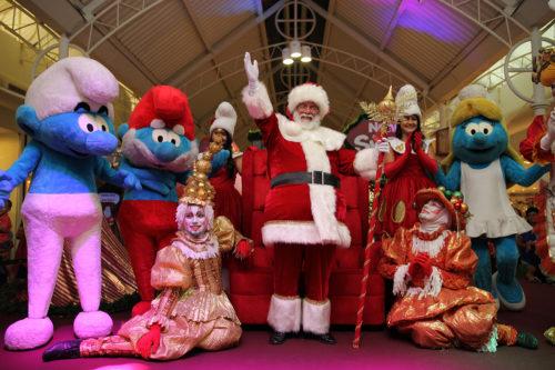 Natal dos Smurfs oferece diversão para toda a família no Shopping Jardins