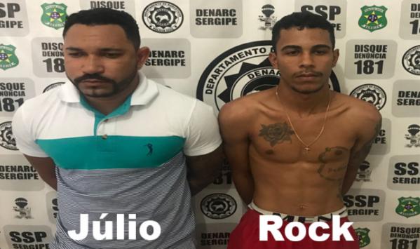 Dupla é presa com armas e drogas no conjunto Marcos Freire II
