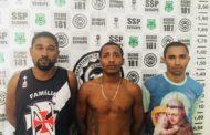 Trio é preso horas depois de assaltar ônibus escolar em Itaporanga D'Ajuda