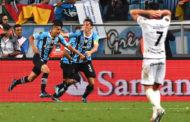 Grêmio vence Lanús com gol de Cícero e abre final da Libertadores com vantagem