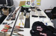Em Itaporanga, polícia prende grupo criminoso que planejava explodir agências bancárias em Sergipe