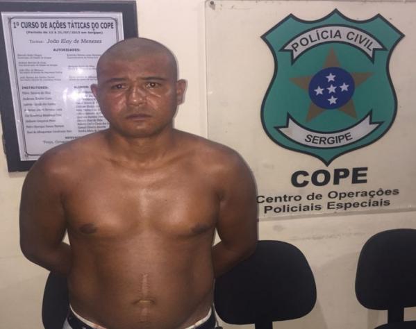 Polícia prende acusado de cometer estupro no bairro São José, em Aracaju