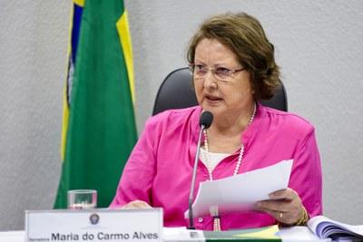 Maria do Carmo Alves (DEM) destinou recursos de emendas ao Orçamento Geral da União (OGU) de 2018 para fomento do setor agropecuário.