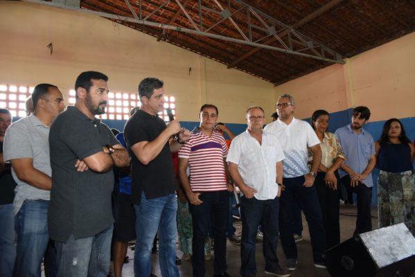 lideranças políticas declaram apoio à Belivaldo Chagas