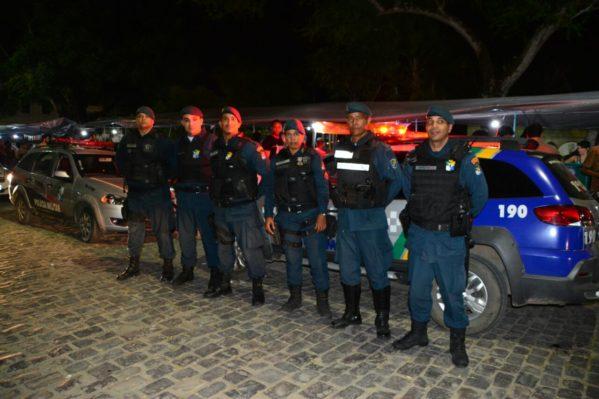 Policiamento foi reforçado durante o Festival de Artes de São Cristóvão