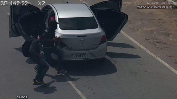 Criminosos assaltam agência do Bradesco pela segunda vez em seis dias (foto: redes sociais)