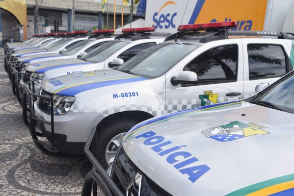 O vice-governador entregou 52 viaturas à Polícia Militar do Estado de Sergipe para renovação da frota