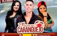 Devinho Novaes será a atração principal da Festa do Caranguejo