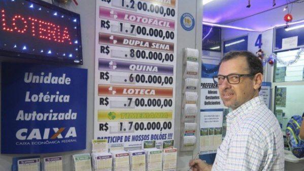 Renato Catran diz que não gostaria de ganhar sozinho. Prefere outras pessoas também felizes Foto: Diego Amorim