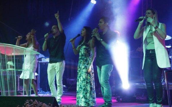 Réveillon da Igreja do Evangelho Quadrangular de Aracaju (Foto: Assessoria de Imprensa)