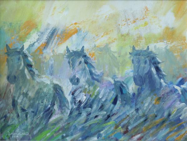 A mostra será lançada no dia 23 de janeiro com pinturas e esculturas do artista
