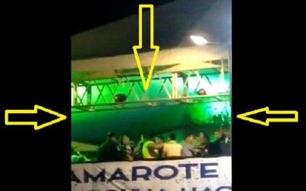 Briga foi registrada no camarote da prefeitura de Laranjeiras  o show de Devinho Novaes