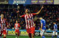 Diego Costa reestreia e marca em goleada do Atlético de Madrid