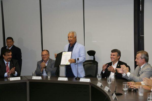 A construção da nova unidade corresponde a um investimento de R$ 36.275.568,51 e foi um compromisso assumido pelo governador Jackson Barreto junto à sociedade e ao Poder Judiciário