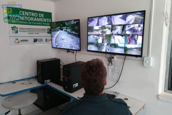 PM inicia monitoramento com câmeras no Parque dos Falcões