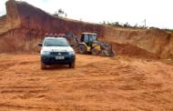Crime ambiental referente a retirada ilegal de minério é flagrado no interior de Sergipe