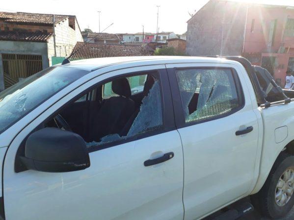 Desavença terminou com o carro danificado em Itaporanga D' Ajuda