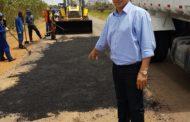 Prefeito de Itabaiana pede autorização de Jackson para consertar mais uma rodovia estadual