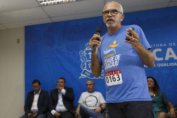 Edvaldo lança 35ª edição da Corrida da Cidade de Aracaju e mais de R$100 mil em prêmios