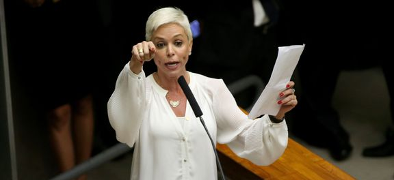 Brasília - Sessão plenária para eleição do novo presidente da Câmara dos Deputados.Cristiane Brasil é uma das candidatas (Wilson Dias/Agência Brasil)