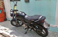 Polícia Militar recupera motocicleta instantes após ter sido roubada em São Cristóvão