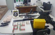 Polícia Civil prende oito suspeitos de assaltos a bancos de Macambira e Itabaianinha