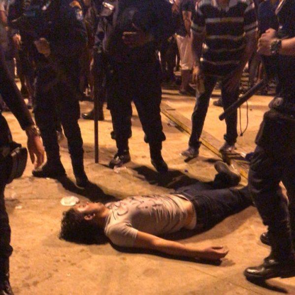 O jovem que foi atingido na nuca é morador do povoado Água Fria, na cidade de Salgado (foto: redes sociais)